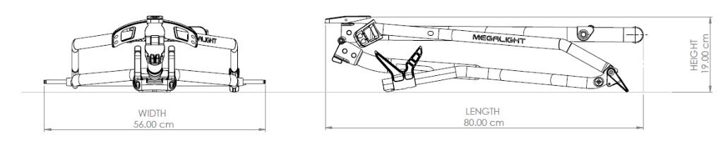 Zeichnung WishBone Folded