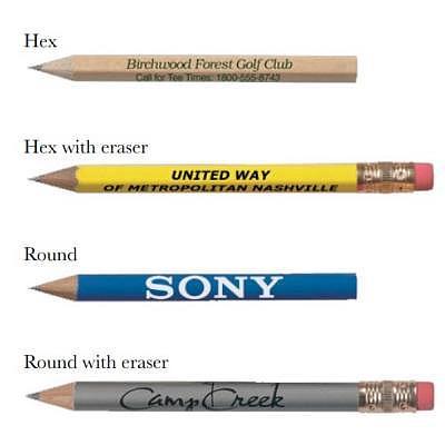 Pride Golf Tee Custom Golf Pencils