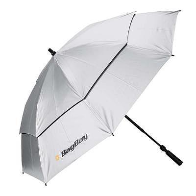 Bag Boy UV-Telescopic Umbrella, silver,