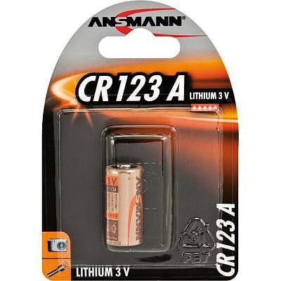 Diverse CR123A Lithium Fotobatterie 3V