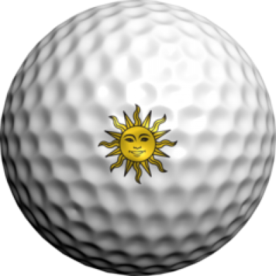 golfdotz Golfball Tattoo, Sonne