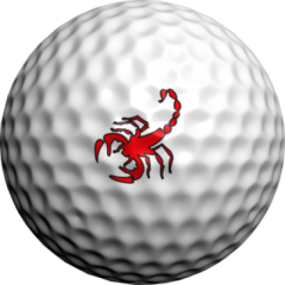 golfdotz Golfball Tattoo, Scorpion rot