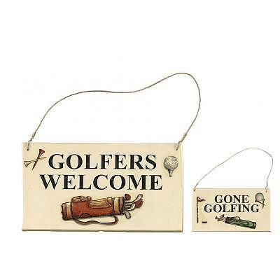 Sportiques Golf Türschild