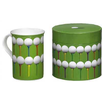 Sportiques Golfmotiv Kaffeetasse in De..