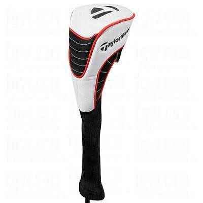 TaylorMade Driver Headcover XII, white..