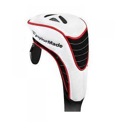 TaylorMade FW Headcover XII, white/red..
