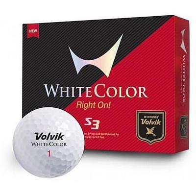 Volvik S3 WHITE COLOR XVI 12er