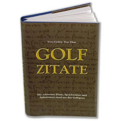 Golf Import Golf Zitate
