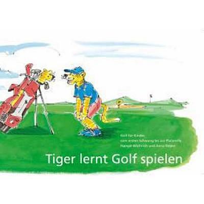 . Tiger lernt Golf spielen