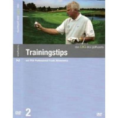 . DVD - Trainingstipps, Frank Adamowicz