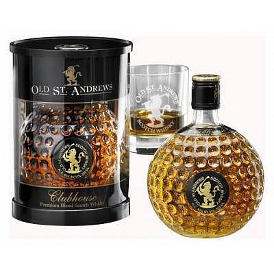 Sportiques Premium Blend Scotch Whisky..
