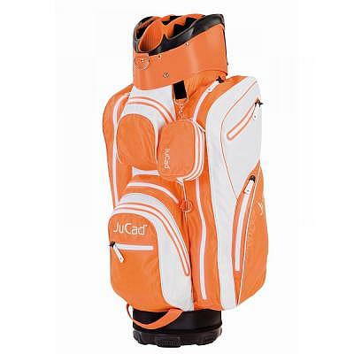 JuCad JuCad Aquastop Bag-WEISS-ORANGE
