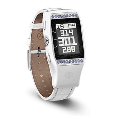 GolfBuddy LD2 GPS Uhr mit Swarovski Kr..