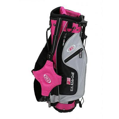 U.S. Kids Ultralight Stand Bag Pink