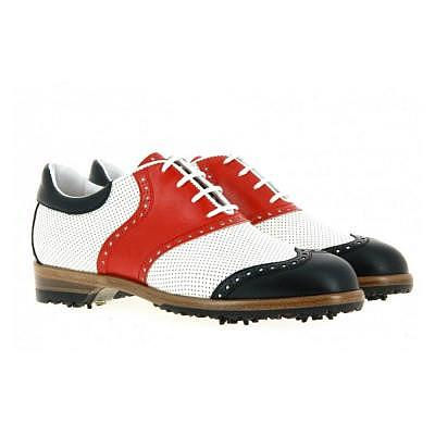 TeeShoes Tee Golf Shoes mit Spikes Dam..