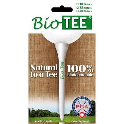 Diverses Bio Tee 70mm x 10 Stk.