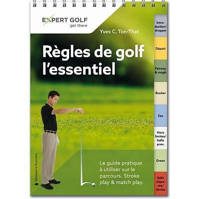 Bücher Règles de golf L'essentiel 2016..