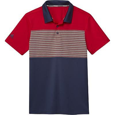 adidas K Boys Engineered Print Polo
