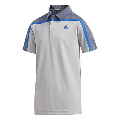 adidas K Boys Heather Block Polo