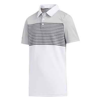 adidas K Boys Engineered Stripe Polo