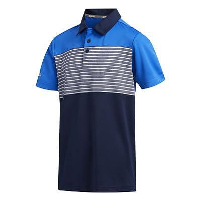 adidas K Boys Engineered Stripe Polo