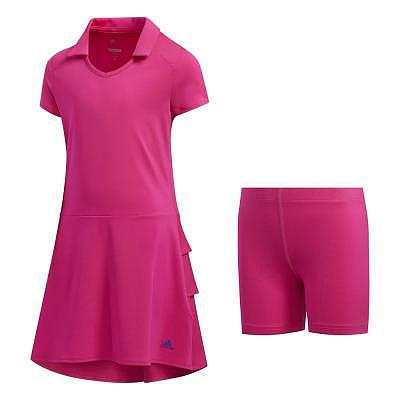 adidas K Girls Ruffle Golf Dress