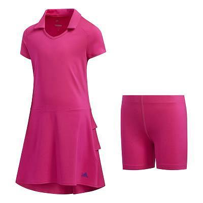adidas K Girls Ruffle Golf Dress
