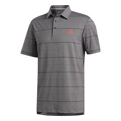 adidas M Ultimate Heather Stripe Polo