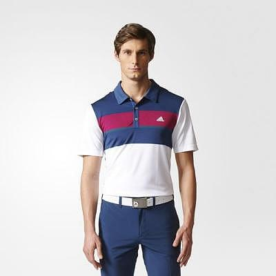 adidas M climacool Chest Block Polo ku..