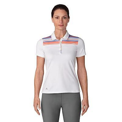 adidas W Ultimate365 Stripe Merch Polo..