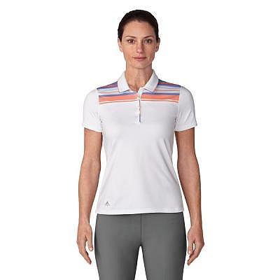 adidas W Ultimate365 Stripe Merch Polo..