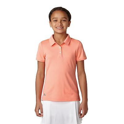 adidas K Girls Solid Polo SS