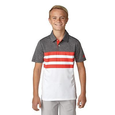 adidas K Boys 3-Stripes Fashion Polo SS