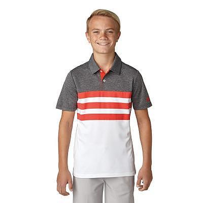 adidas K Boys 3-Stripes Fashion Polo SS