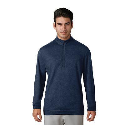 adidas M Wool Quarter Zip Pullover