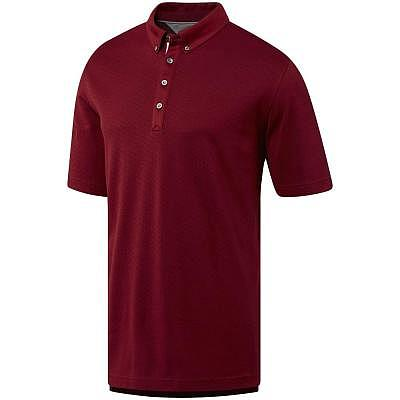 adidas M Triple Notch Jacquard Polo SS