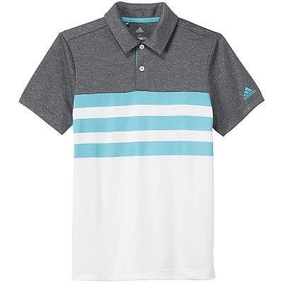 adidas K Boys 3-Stripes Fashion Polo