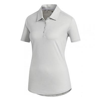 adidas W ULTIMATE HEATHER SS Polo