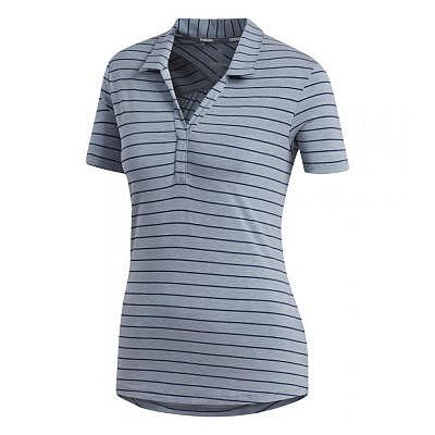 adidas W Adidas HEATHER STRIPE SS Polo