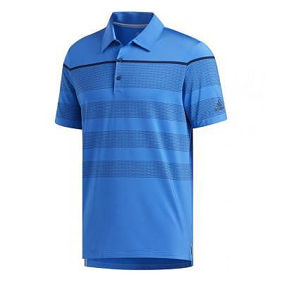 adidas M ULTIMATE365 DASH STRIPE POLO
