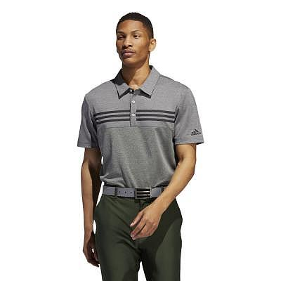 adidas M Heather Block Polo