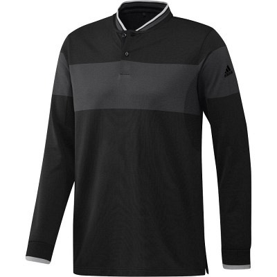 adidas M Long Sleeve Primeknit Polo LS