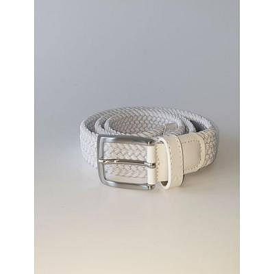 Alberto W Basic Braided Stretch Belt
