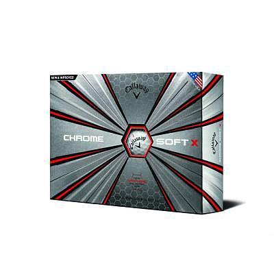 Callaway Chrome Soft X 18 Ball
