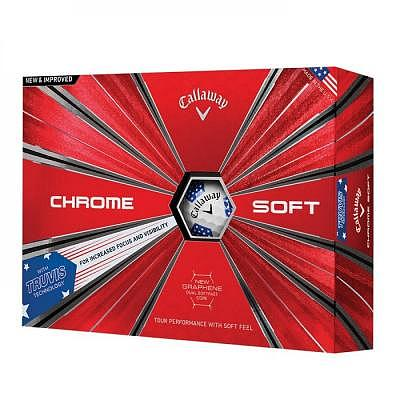 Callaway Chrome Soft TRUVIS Ryder Cup ..