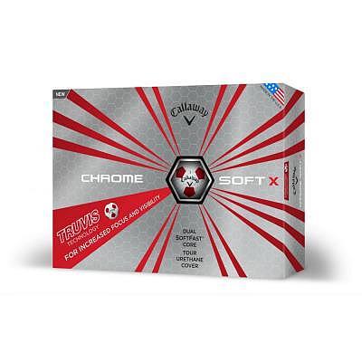 Callaway Chrome Soft X 18 Truvis Ball