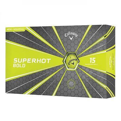 Callaway Superhot Bold Ball