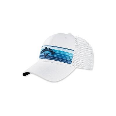Callaway Stripe Mesh Cap
