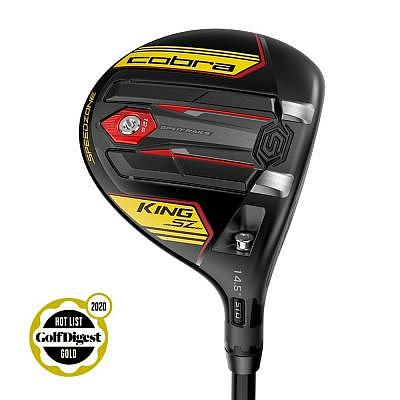 Cobra King Speedzone Yellow Fairway Wood
