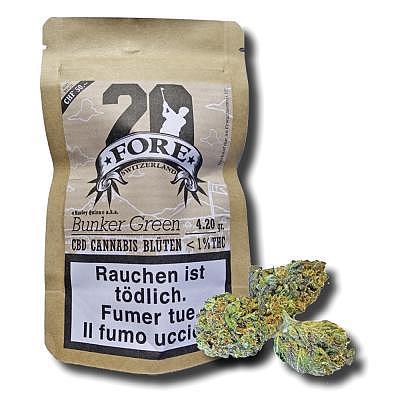 Fore20 CBD Cannabis 4.20 gr